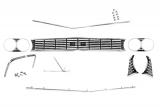 1966 Chevelle Grille Kit Super Sport