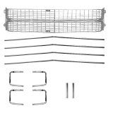 1970 Chevelle Grille Kit Silver