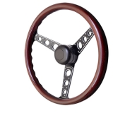 1962-1979 Nova GT Performance GT3 Pro-Touring Autocross II Wood Steering Wheel: 54-5717
