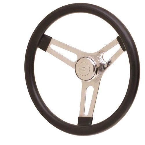 1964-1977 Chevelle GT Performance GT3 Competition Style Symmetrical Foam Steering Wheel (Small Dish)