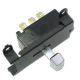 1969-1971 Chevelle Wiper Switch, Without Hidden Wipers