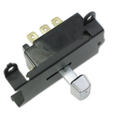1969-1971 Chevelle Wiper Switch, With Hidden Wipers