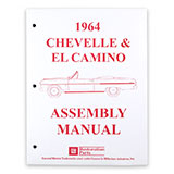 1964 El Camino Factory Assembly Manual