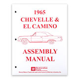 1965 El Camino Factory Assembly Manual