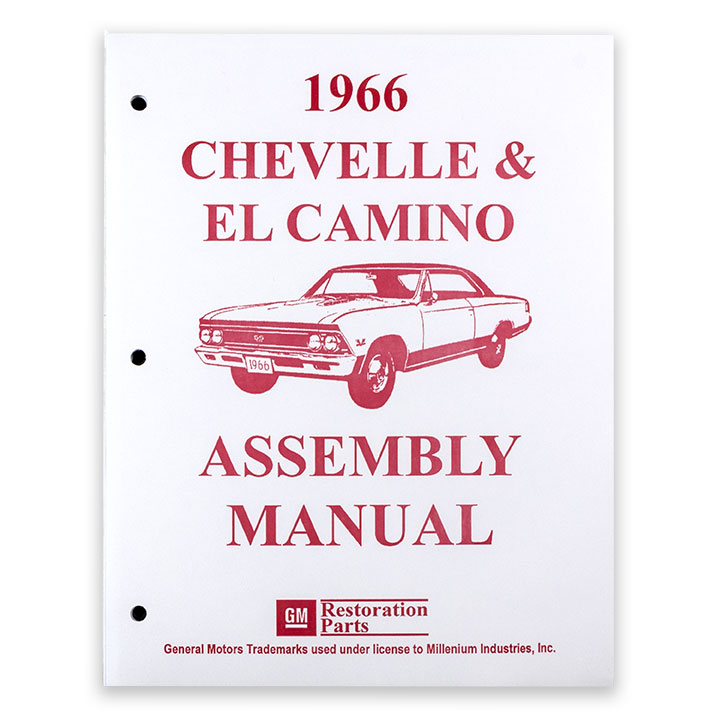 1966 Chevelle Factory Assembly Manual