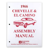 1966 El Camino Factory Assembly Manual