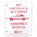 1967 El Camino Factory Assembly Manual