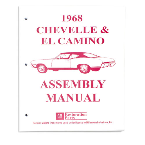 1968 Chevelle Factory Assembly Manual