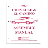 1968 El Camino Factory Assembly Manual