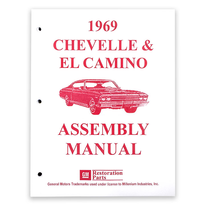 1969 Chevelle Factory Assembly Manual