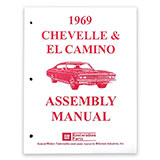 1969 El Camino Factory Assembly Manual