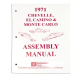 1971 El Camino Factory Assembly Manual