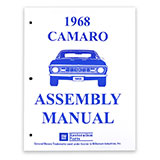 1968 Camaro Factory Assembly Manual