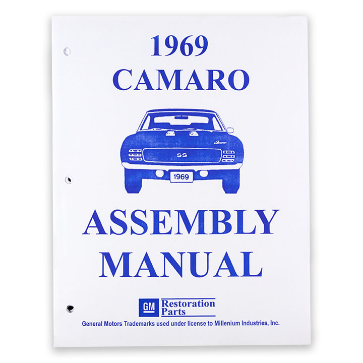 1969 Camaro Factory Assembly Manual