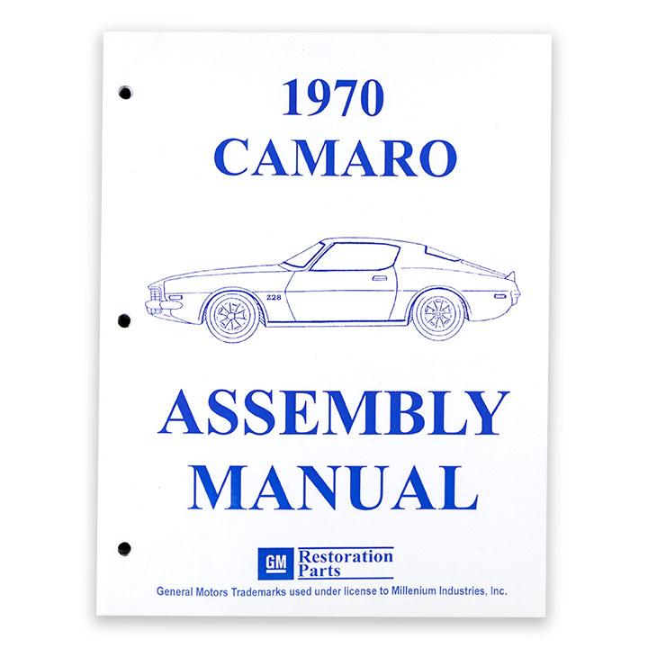 1970 Camaro Factory Assembly Manual