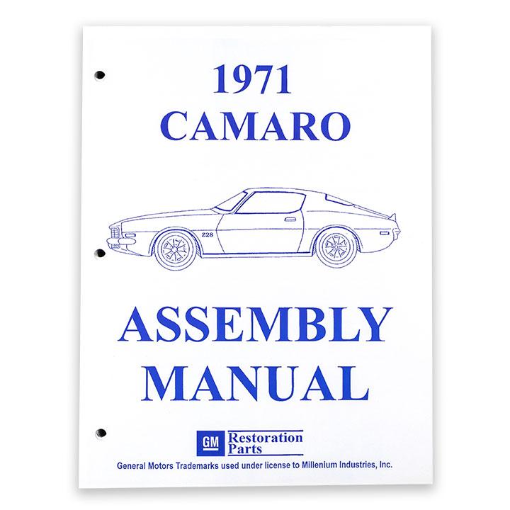 1971 Camaro Factory Assembly Manual