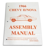 1966 Nova Factory Assembly Manual