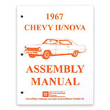 1967 Nova Factory Assembly Manual