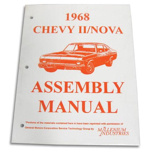 1968 Nova Factory Assembly Manual