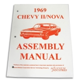 1969 Nova Factory Assembly Manual