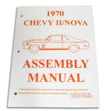 1970 Nova Factory Assembly Manual