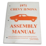 1971 Nova Factory Assembly Manual