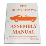 1972 Nova Factory Assembly Manual