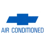 1967 Camaro Air Conditioning Window Decal
