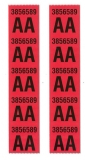 1967 Chevelle Big Block SS396  Front Coil Spring Decals, Code AA