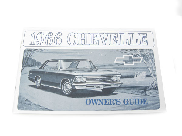 ispacegoa.com Automotive Other Parts 66 Chevelle Owners Manual