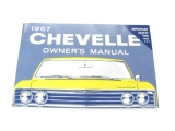 1967 Chevelle Factory Owners Manual