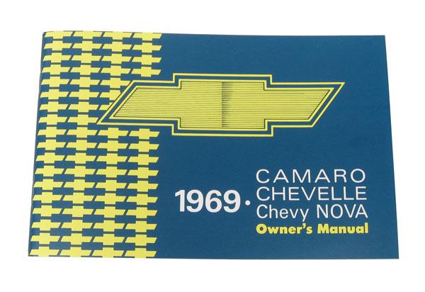 1970 Camaro Factory Owners Manual