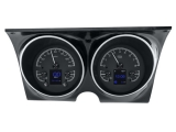 1967-1968 Camaro Dakota Digital HDX Instrument System - Black Alloy Gauge Face
