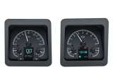 1969 Camaro Dakota Digital HDX Instrument System - Black Alloy Gauge Face