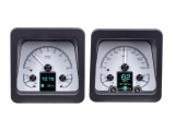 1969 Camaro Dakota Digital HDX Instrument System - Silver Alloy Gauge Face