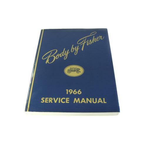 1966 Nova Fisher Body Manual