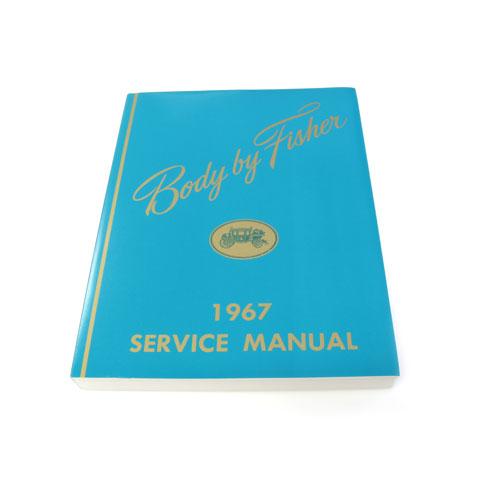 1967 Nova Fisher Body Manual