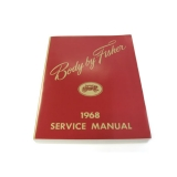1968 Camaro Fisher Body Manual