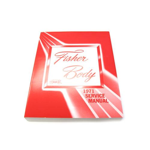 1971 Nova Fisher Body Manual