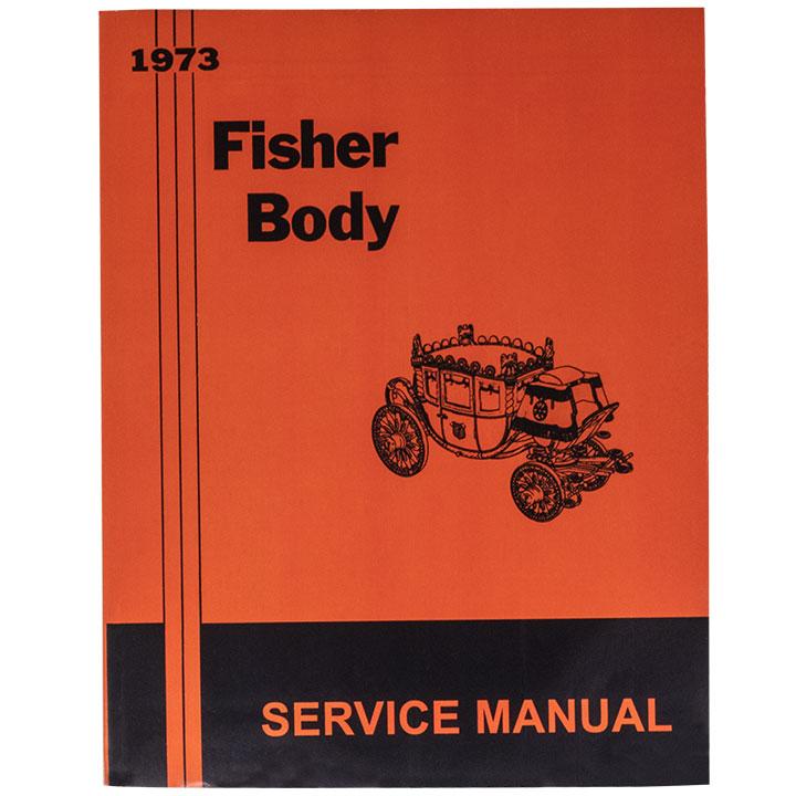 1973 Nova Fisher Body Manual