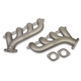 1970-1981 Camaro Hooker LS Exhaust Manifolds, 2.25 Outlet, Titanium Ceramic Finish: 8501-4HKR