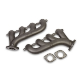 1970-1981 Camaro Hooker LS Exhaust Manifolds, 2.25 Outlet, Natural Cast Finish: 8501HKR