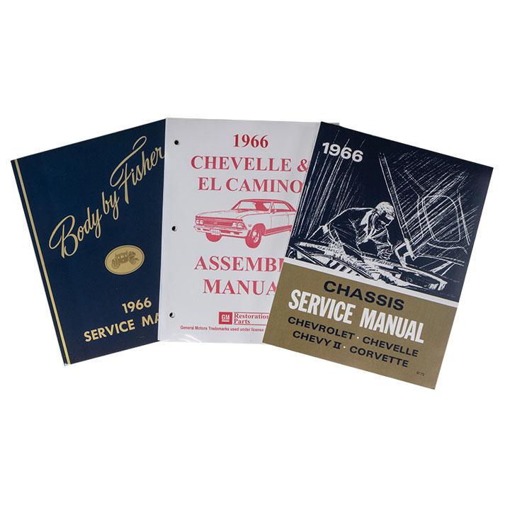 1966 Chevelle Factory Shop Manual Set
