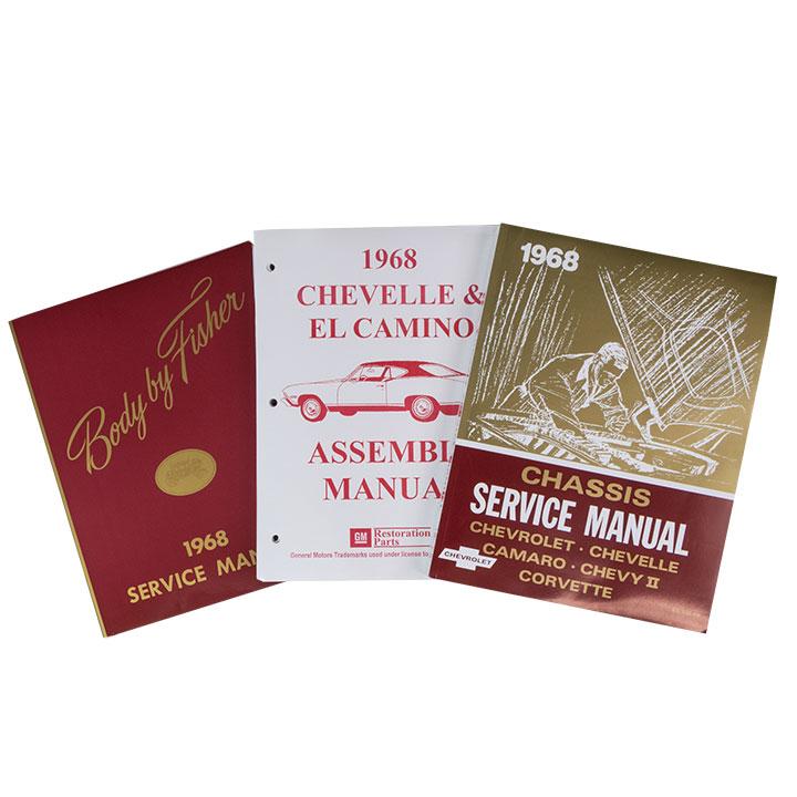 1968 El Camino Factory Shop Manual Set