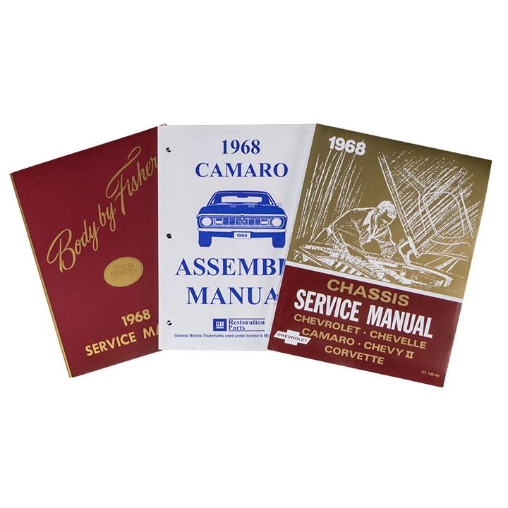 1968 Camaro Shop Manual Set