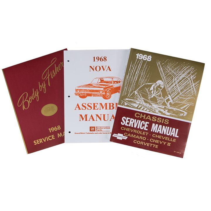 1968 Nova Shop Manual Set