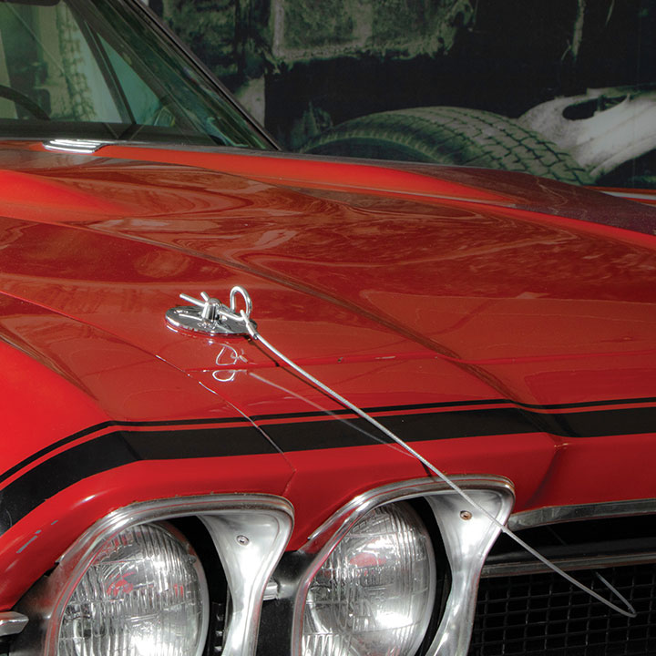 Name Plates For Cars >> 1964-1977 Chevelle Peel N Stick Billet Aluminum Hood Pin ...