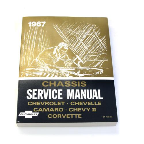 1967 Nova Chevrolet Service Manual