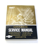 1967 Camaro Chevrolet Service Manual