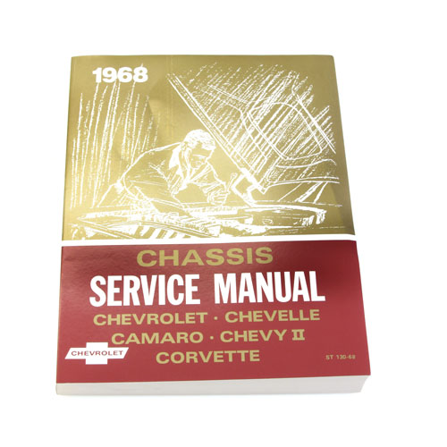 1968 Camaro Chevrolet Service Manual